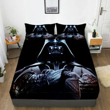Star Wars Darth Vader Fitted Sheet 3PCS Bed Sheet & Pillowcase Fans Bedding set