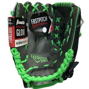 "Franklin Fastpitch Softball Fielding Glove 12"" Fast Pitch Pro Series 22318 LHT"