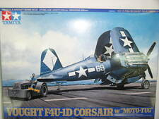 Tamiya 1/48 Vought F4U-1D Corsair - w/Moto Tug Model Air Plane Kit  #61085