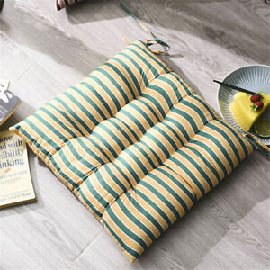 Chair Cushions Soft Pad Garden Square Dining Bed Room Kitchen School Seat