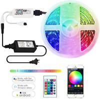 RGBW LED Strip DC12V LED Strip 5050 5M 300LEDs +WIFI/24Key Controller+5A Power