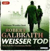 WEIßER TOD(4)DIE CORMORAN-STRIKE-REIHE - WUNDER,DIETMAR  3 MP3 CD NEW
