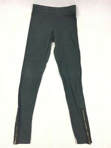 American Eagle AEO Gray Hi-Rise Legging - Women's Size Small - Zippered Ankles