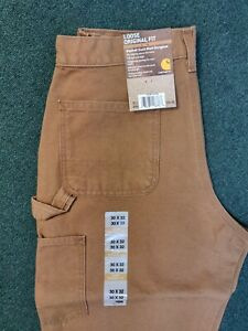 Carhartt B11 Carhartt Brown Work Pants Multiple sizes New with tags