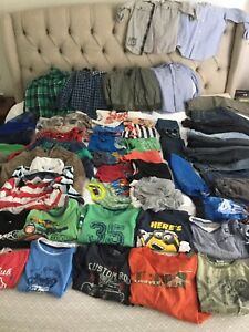 Boys bulk size 5-6 summer and winter clothes