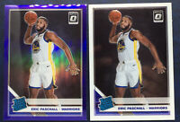 2019-20  Donruss Optic Paschall Rated Rookie 2 Card Lot Purple Holo Silver Prizm