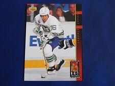 1993-94 Upper Deck UD Hat Tricks HT13 Mikael Nylander Hartford Whalers