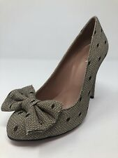 6ad411ea2d01 New Red Valentino Womens Beige Heels Ladies Shoes Size 7 US 37 EU