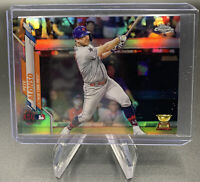 2020 Topps Chrome Update Pete Alonso Refractor #/250 NY Mets + 8 more cards LOOK