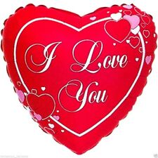 "GIANT 32"" FOIL BALLOON  VALENTINES DAY  I LOVE YOU HEART SCRIPT - WHOLESALE"
