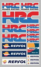 16x HRC Honda Repsol  Sponsor stickers decals graphics vinyl sticker sheet