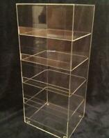 "Acrylic Countertop Display Case 7"" x 6""x 21"" tall  Convenience Store"