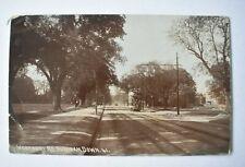 More details for postcard durdham down westbury road bristol 1914 tram & tramlines real photo rp
