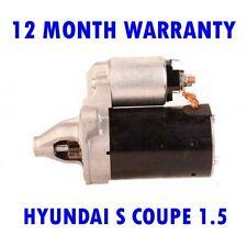 HYUNDAI S COUPE 1.5 1990 1991 1992 1993 1994 1995 1996 RMFD STARTER MOTOR