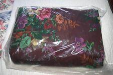 Ralph Lauren BRITTANY Purple FLORAL Queen / Full DUVET Comforter COVER - EUC