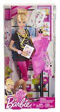 Mattel X2887  Barbie Ich wäre gern... Fashion Designer, Puppe, NEU , OVP