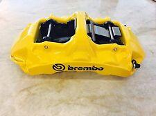 Brembo GT 6 Piston Monobloc Calipers (pair) - yellow - NEW!