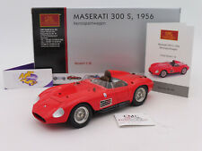 """CMC M-105 # Maserati 300 S Rennsportwagen Baujahr 1956 in """" rot """" 1:18 ab 1,- €"""