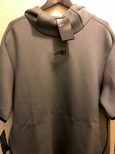 Nike New England Patriots  Short-Sleeve Hoodie  AO5428-021 XL