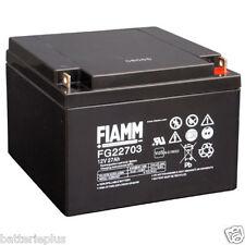 Fiamm FG22703 12V 27Ah M5 Borne à vis Powerfit S312/26F5 NPL24-12i