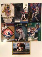 Vladimir Guerrero Lot - 7 Cards, Montreal Expos MLB HOF Topps Upper Deck NM M
