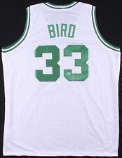 Larry Bird Signed Jersey Boston Celtics Beckett COA