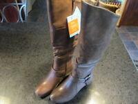 Beartraps Women's Boots Sanova 2 Brown Wide Calf Size 6 New MSRP $120