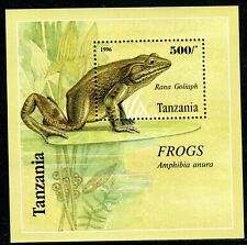 413 - Tanzania 1996 - Fauna - Frogs - MNH Souvenir Sheet