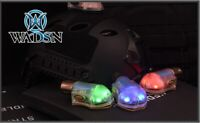 Manta Strobe IR and Light Snail LED OPS-Core Helmet - TAN BODY by WADSN