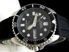 Citizen Vintage Divers 200m Day Date Automatic Mens Watch Authentic Working