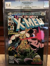 UNCANNY X-MEN #144 CGC 9.4 NM CYCLOPS SOLO STORY (ID 2601)