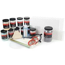 Bullseye 90 COE Paint With Glass Kit Glass Fusing Supplies Frit Stencils Sifters