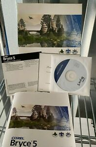 Corel Bryce 5 3D Landscape & Animation PC Software Windows 2000