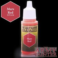 The Army Painter Acrylic Paint Warpaints Mars Red 18 ML Paint