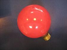 RAREZA PAULMANN GLOBE G100 E27 40W 230V ROJO Lámpara de globo G95