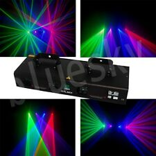 RGBV Quad 380mW   home party disco dj Laser Stage Light  show equipment