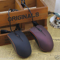 Small 1000 DPI USB 3D Wired Optical Mouse Mice For PC Laptop Computer Notebook