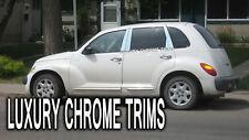 Chrysler PT Cruiser Stainless Chrome Pillar Posts by Luxury Trims 2001-2010 6pcs