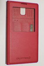 Samsung Genuine OEM Galaxy Note 3 S-View Note III Flip Cover - Plum Magenta