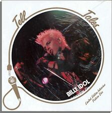 Billy Idol - New 1988 Tell Tales Interview UK Picture Disc LP Record!