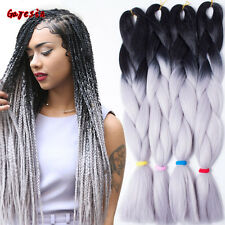 24inch 100g Ombre Xpression Jumbo Kanekalon Synthetic Braiding Hair Extensions