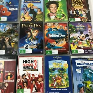 Walt Disney DVD's Pick Your Own - New & Old - Updated Regularly Large Selection