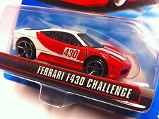 Hot Wheels Speed Machines Ferrari F430 Challenge weiß / rot