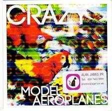 (EL222) Model Aeroplanes, Crazy - DJ CD