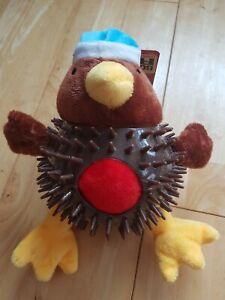 Good Boy - Christmas Bobble Ball Robin - Puppy / Dog Christmas Toy