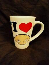 """Family Guy """"I Love Stewie"""" 2014 Ceramic Coffee Mug Stewie Griffin"""