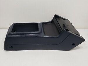 90-91 Accord Center Console Drink Holder Shifter Bezel Garnish Trim Blue used