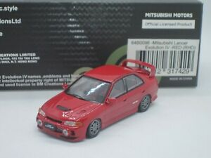 Mitsubishi Lancer Evolution EVO IV 4 GSR specs red 1/64 BM Creations