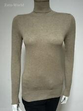 Zara Polo Neck None Regular Jumpers & Cardigans for Women