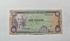 CrazieM World Bank Note - 1987 Jamaica 1 Dollar - Collection Lot m077